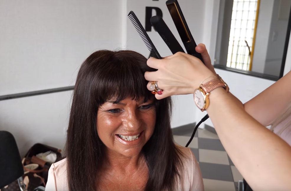 Haarverdichtung mit einem Integrations-Haarteil – Making of